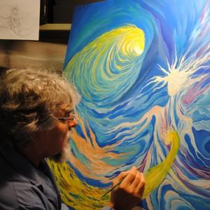 Gabriele Frigerio - L'Angelo del Sole - dettaglio